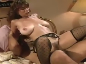This busty VIP prostitute in sexy lingerie always looks hot having sex