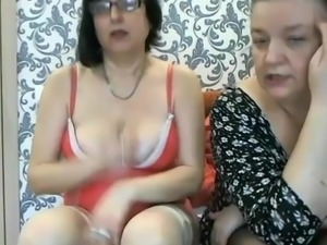 Two Russian 48yo whores on webcam sc.2