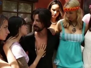 Bosomy Latina MILF Nadia Styles has gathered all her kinky friends for orgy