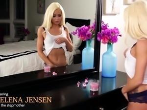 MILF Jelena grinds teen Elsas wet pussy