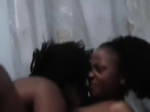 Amateur African lesbians are more than ready to take on
