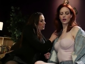 Chanel Preston Strapon Fucks Alex Harper