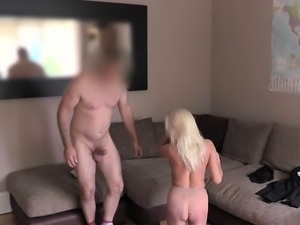Agent nailed milf slut on casting