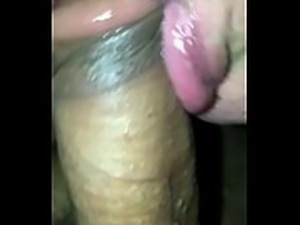 Love the taste of the tip of dick!! -Plumbers special