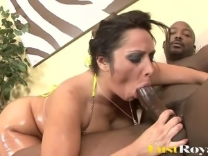 Chubby Vannah Sterling Is Fucked Hard By Massive Black Cock