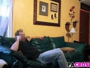 Pops Stiff Cock For Stepdaughter Avery Moon