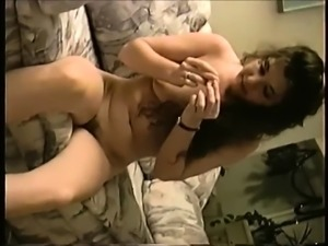 Hairy milfs masturbation solo