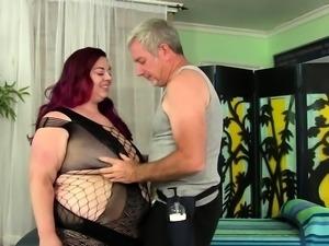 Raunchy Sex Massage for Fat Floozy Miss Ladycakes