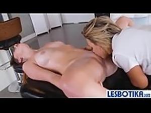 Pressley Carter &amp_ Alex Blake hot lesbo sex action