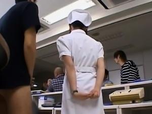 Yuki Mana nurse gets cum on- More at hotajp.com
