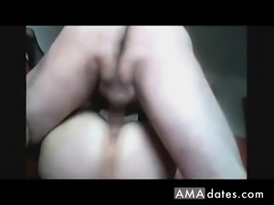 Homemade - Mature Missionary Close-Up fucking Couple