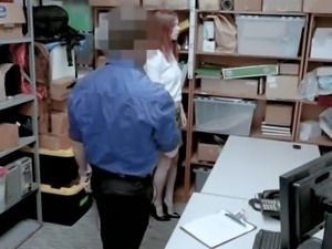 American chick Pepper Hart gets caught and fucked by dirty cop