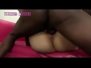 Indian teen girl with black dick