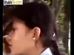 Couple Enjoying in park visit -bhabhi4u.com
