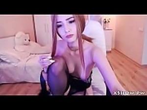 Japanese Hot Babe Flashing On Webcam Show