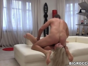 Scarlett Knight got ass fucked by Rocco