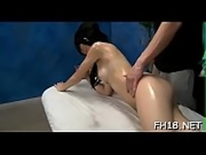 Sexy and horny 18 year old slut gets a hard fuck from her massagist