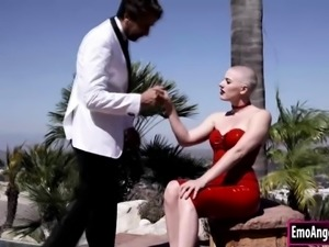 Riley Nixon enjoys getting her wet pussy fucked by big cock