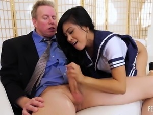 Ember Snow Pleases Her Boss