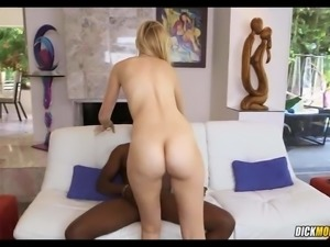 Blonde takes 10 inches in her Tight Hole