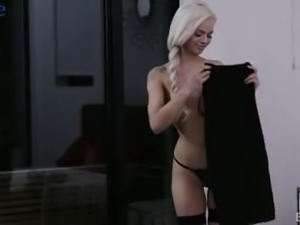 The romantic date ends up with steamy banging of lovely Elsa Jean