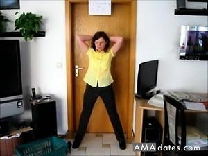 Slave strip and posing orders