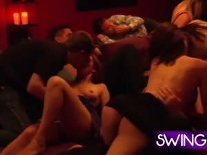 Group bonding goes a long way before orgy