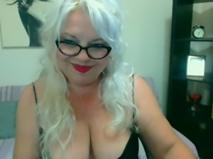 Sonya Busty Blonde  On Webcam
