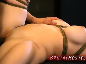 Teen bondage and best rough compilation Big-breasted platinu