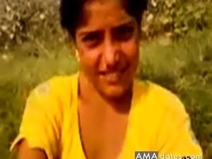 Desi village girl having fun with boys