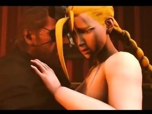 Demonstration of 3D models in 3D sexvilla game