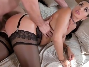 Ania kinski submissive anal vixen ania kinski gets ass fucked by a stranger...