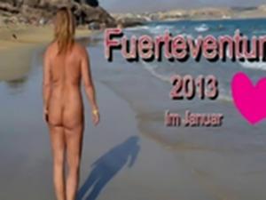 nudist beach fuerteventura 2013
