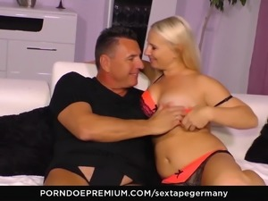 SEXTAPE GERMANY - First time porn on camera with hot German