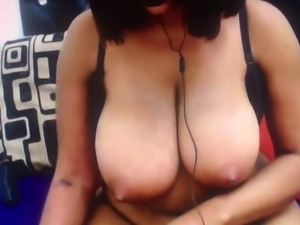 African Huge Breast Light Nipples