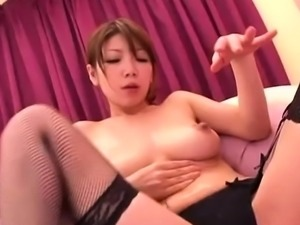 Oriental masseuse wishes ball goo on her big tits after sex