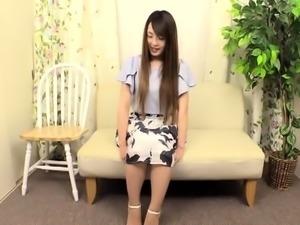 Elegant Oriental babe invites two guys to satisfy her needs