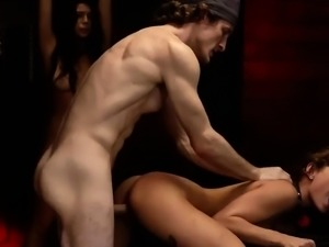 Brutal vagina and master slave sex Two young sluts, Sydney C