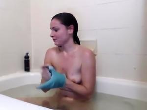 Hot Russian Teen Masturbate In Shower