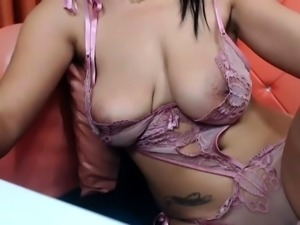 Big boobs amateur brunette girlfriend first time anal sex