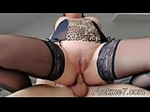 Old mom and bigcocked dad are pleased by son&#039_s GF