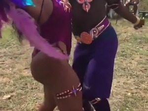 dominican black babes in the carnival 4