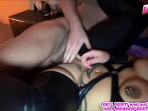 German ugly big natural tits housewife homemade porn