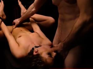 Brutal bisexual punishment Two youthful sluts, Sydney