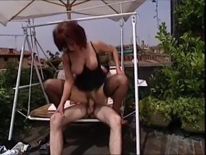 Teresa visconti vintage anal stocking