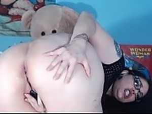 Spank me hard and cum in my ass!