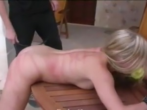 beat and whip the slave