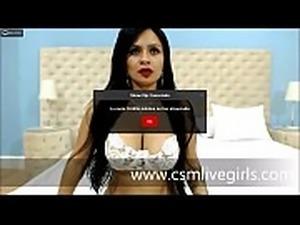 Saborea mis tetas y te masturbare - AnnieCooperr modelo latina