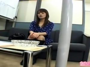 Akari Hoshino naughty Asian amateur in POV blowjob