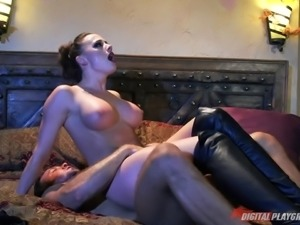 Vampire MILF meets a guy, brings him home, and fucks him